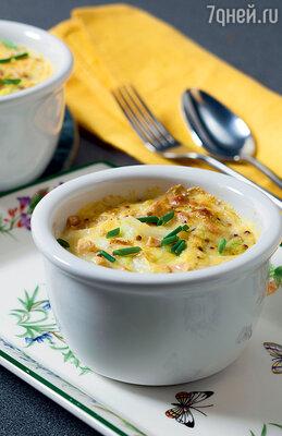 Капустное суфле с орехами и горчицей