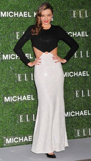 Миранда Керр в наряде от Michael Kors на вечеринке журнала Elle Japan 2013