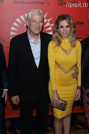 Ричард Гир и Алехандра Сильва