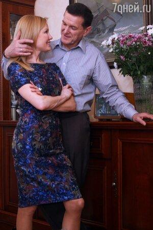 Лариса Вербицкая с мужем Александром