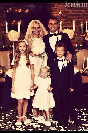 Свадьба Алексея Серова и Ирины Качко