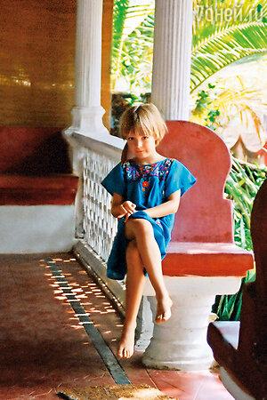 Дочь Ксении Качалиной