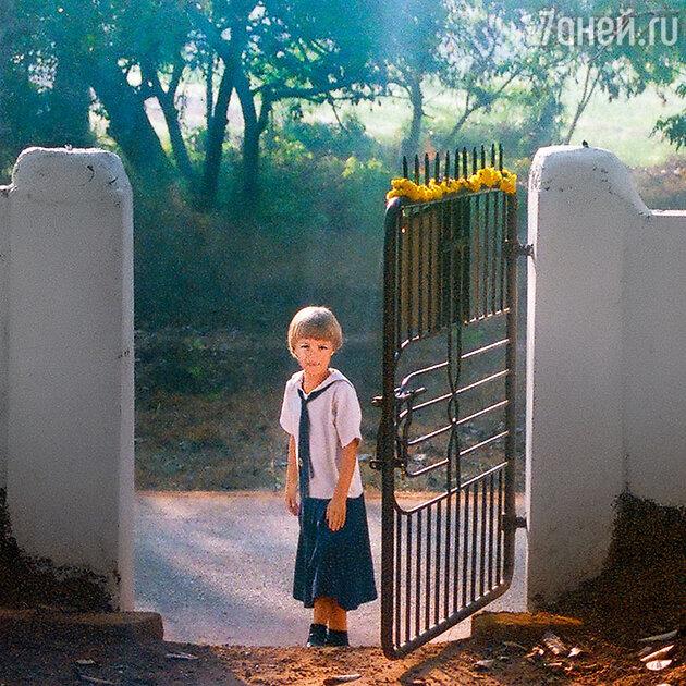 Дочь Ксении Качалиной Анна-Мария