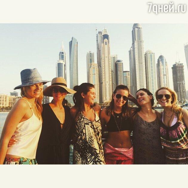 Селена Гомес на отдыхе в Дубае
