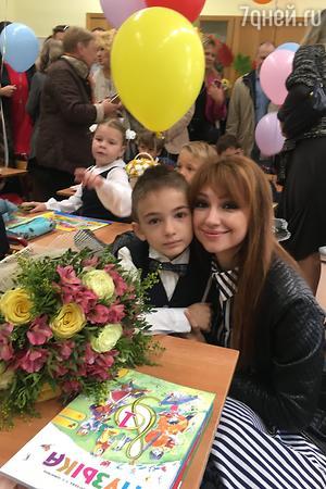 Согдиана с сыном Микаилом