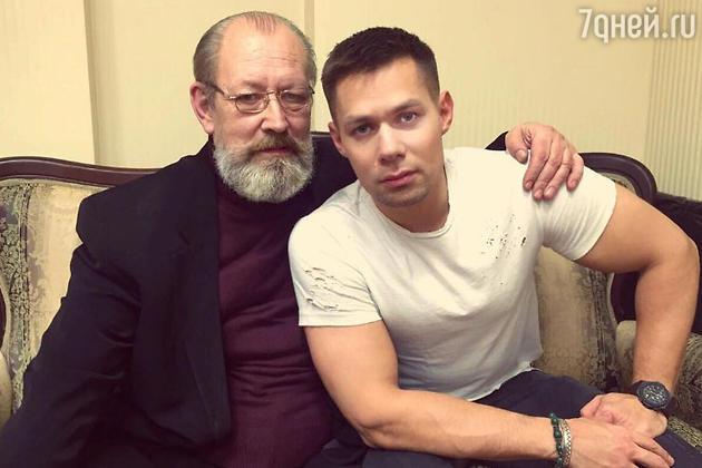 Стас Пьеха и его отец — Пятрас Герулис