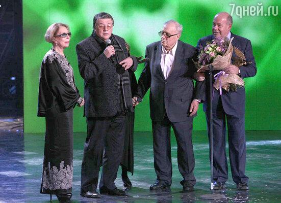 Вручение премии Ника  в Театре оперетты