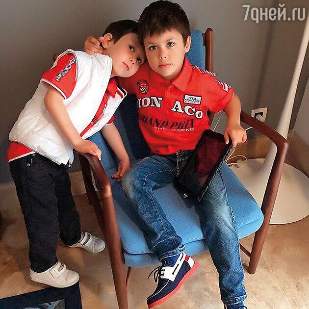 Сыновья Екатерины Климовой