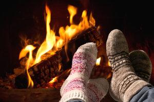 9 способов согреть ноги зимой