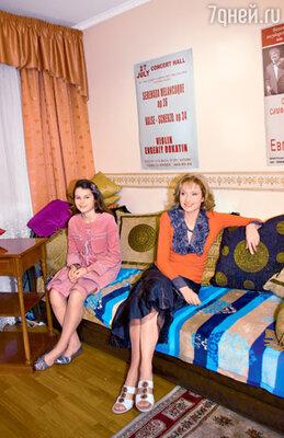 Экранная дочка героини Шукшиной Анфиса Черных и Ольга Прокофьева