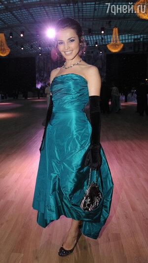 Сати Казанова на  Венском балу. 2009 год