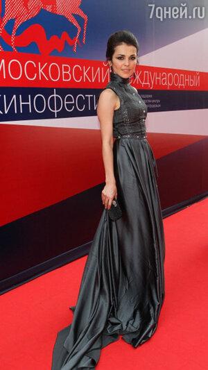 Сати Казанова на открытии ММКФ. 2012 год