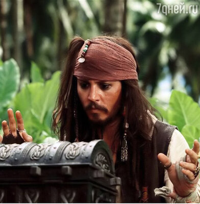 Кадр фильма «Пираты Карибского моря: Сундук мертвеца »