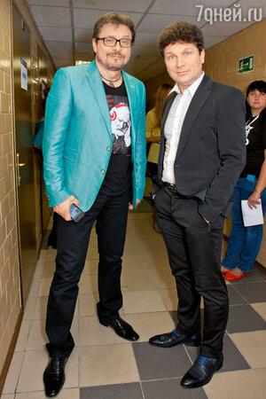 Владимир Маркин и Сергей Минаев на фестивале «Авторадио» «Дискотека 80-х: TOP 20»