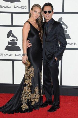 Марк Энтони и Хлоя Грин на церемонии вручения музыкальных наград «Грэмми»
