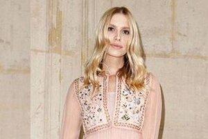 Образ дня: Елена Перминова в Christian Dior