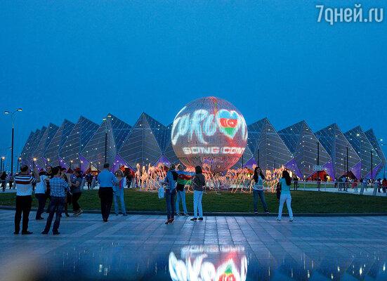 Построенный в рекордно короткие сроки «Baku Crystal hall» стал главной площадкой конкурса