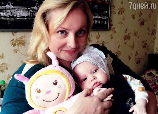 Светлана Пермякова с дочкой Варей