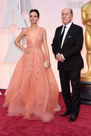 Роберт Дюваль с женой