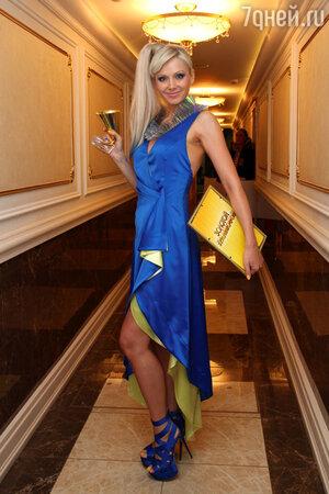 Натали на церемонии вручения премии «Золотой граммофон», 2013 год