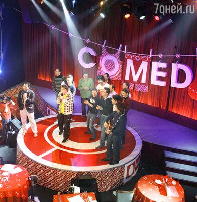 Резиденты «Comedy club»