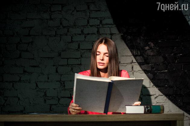Елизавета Боярская на чтениях романа «Анна Каренина»