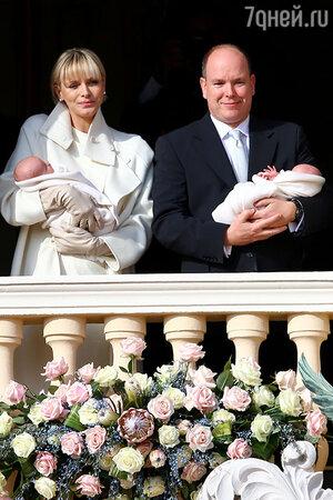 Королевская семья с детьми