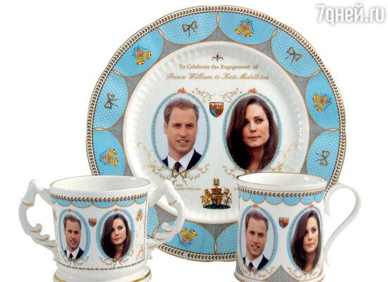Сразу же после объявления о помолвке принца и Кейт сувенирная промышленность, терпеливо ожидающая своего часа, заработала на полную мощность