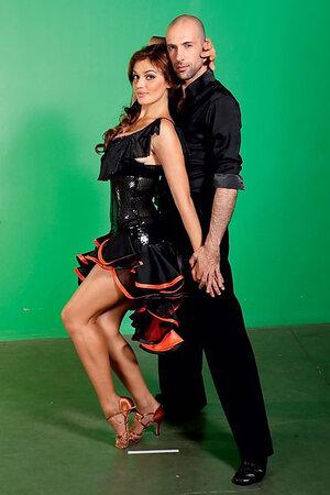 Алена Водонаева и Евгений Папунаишвили на проекте «Танцы со звездами»