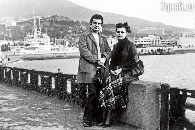Евгения Соловьева с мужем Германом
