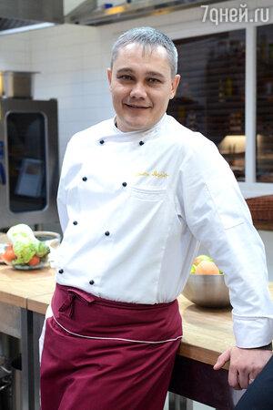 Шеф-повар Вячеслав Аратов