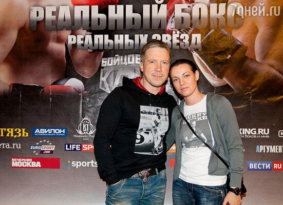 Алексей Кравченко с женой Надеждой