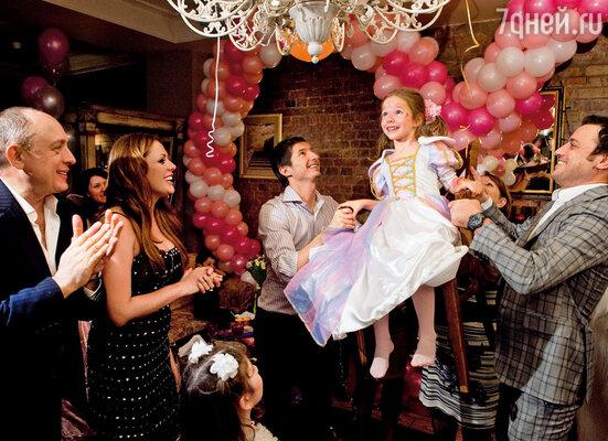 Пятилетие дочки мы, как обычно, праздновали всей семьей