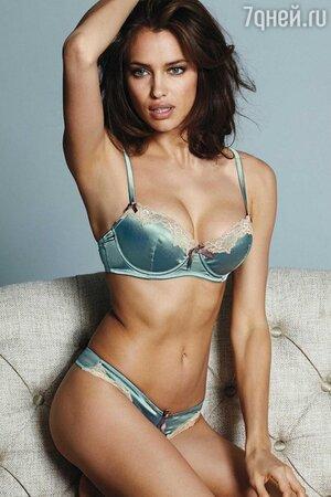 Ирина Шейк в рекламной кампании британского бренда домашней одежды Next