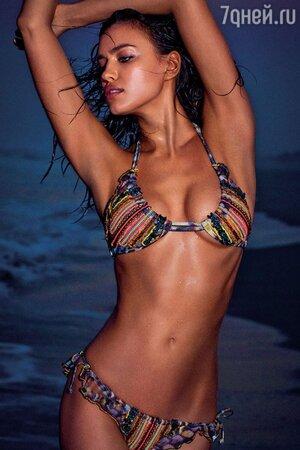 Ирина Шейк в рекламной кампании Agua Bendita