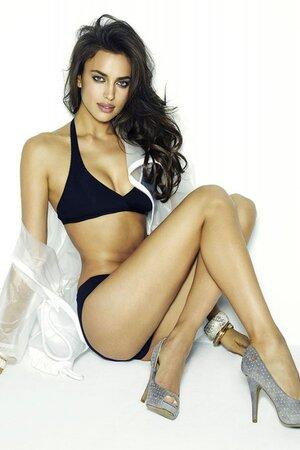 Ирина Шейк в рекламной кампании испанского обувного бренда Xti