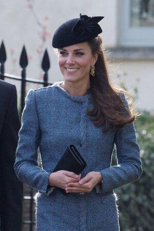 Кейт Миддлтон посетила свадьбу своих близких друзей