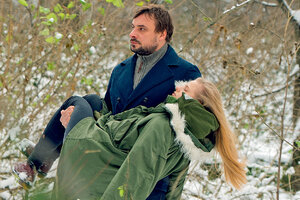 Евгений Цыганов вынес девушку из горящего дома