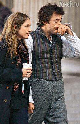 Роберт Дауни-младший с женой Сьюзан