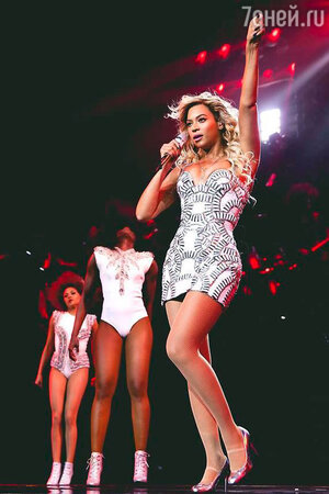 Бейонсе в гастрольном турне Mrs. Carter World Tour