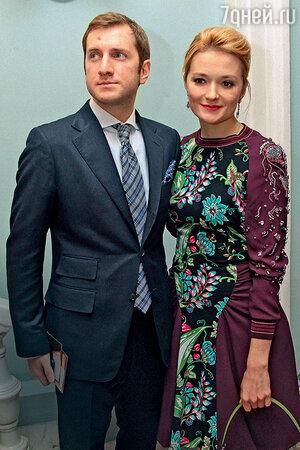 Надежда Михалкова с мужем Резо Гигинеишвили