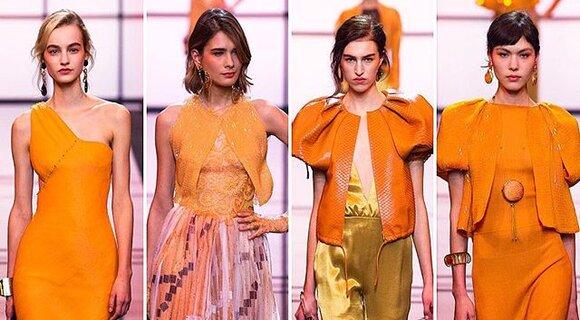Неделя высокой моды: показ Armani Prive