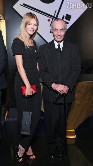 Наталья Бардо и Серж Лютен