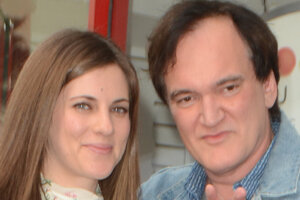 Квентин Тарантино показал Голливуду свою новую подружку