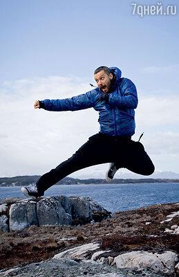 Владимиру Кристовскому пришлось активно двигаться, чтобы незамерзнуть в Норвегии