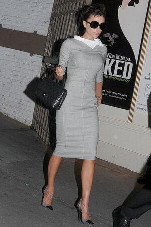 Виктория бекхэм на Бродвее. 2008 г.