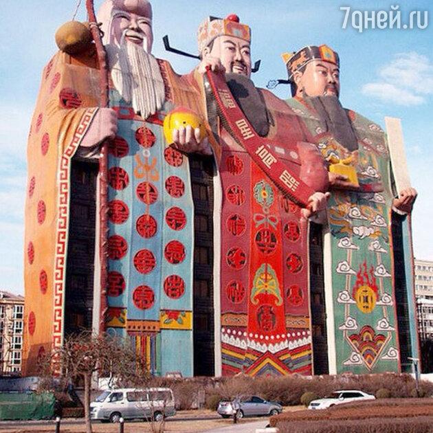 Отель-скульптура в Китае. Tianzi Hotel