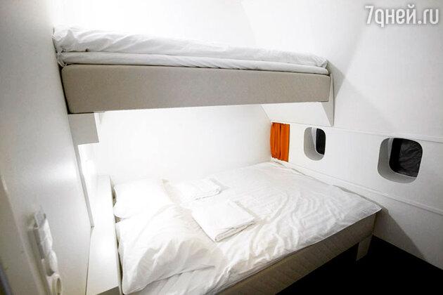 Отель-самолет в Швеции. Jumbo stay