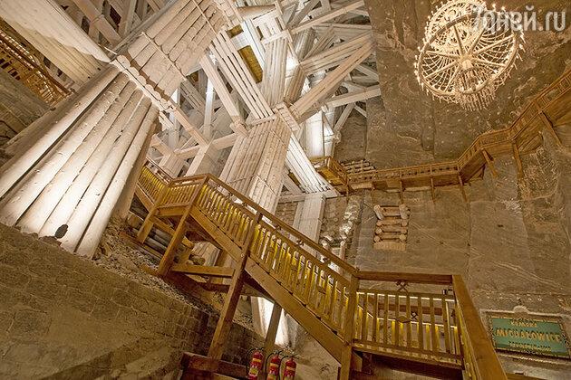 Отель под землей в Польше. Wieliczka Salt Mine