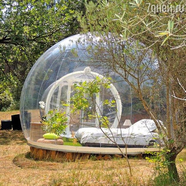Отель-пузырь во Франции. Attrap'Reves